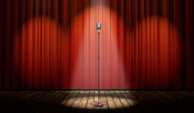 d-stage-red-curtain-vintage-microphone-spot-light-magical-particles-42360858